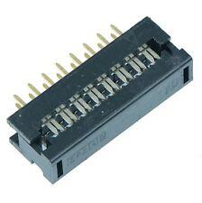 10 x 16-Way Flat Cable IDC Dip Plug 2.54mm Pitch