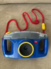 Fisher Price Blue Camera 3815 Kids 110 Film Camera 35mm 1993 Rare ~ Free Ship!