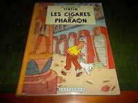 Hergé Les cigares du Pharaon B14 1955