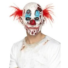 Zombie Clown Mask Horror Halloween Latex Adults Fabcy Dress Accessory