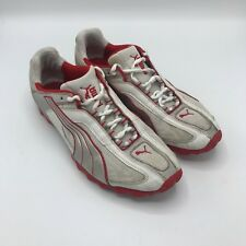 PUMA CPC 0507 RUNNING SHOES White/Red US 11.5  UK 10.5 EUR 45 CM 29.5