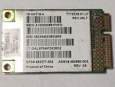 HP 483377-002 GOBI 1000 HSDPA EVDO WWAN GPS Card 2530p 2730p 6530b 6535b 6930p