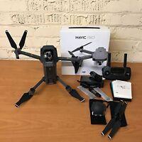 DJI Mavic Pro Folding Drone Quadcopter 4K Stabilized Camera Active Track GPS