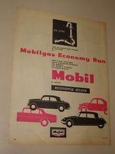 MOBIL OIL GAS ECONOMY RUN=ANNI '50=PUBBLICITA=ADVERTISING=WERBUNG=499