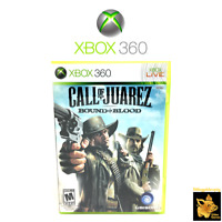 Call of the Juarez Bound in Blood Xbox 360 Game Case Manual Disc Tested & Works