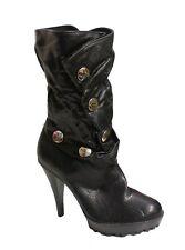 Rocawear Women's Devonn Boot Black US 7.5 NOB NWD