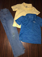 Boys Mixed Lot Size 7, Old Navy Jeans, Under Armour