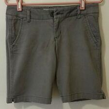 Aéropostale Short A87 Women Size 7/8 Cotton Lt Purple Flat 4 Pocket Stretch