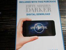 FIFTY SHADES DARKER Ultraviolet code - See description