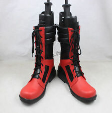 HOT Sale X-men Deadpool Cosplay Boots Red Shoes Custom Made Any Size Unisex
