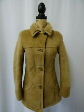 Women's Sheepskin Coat Size 6 Dry Cleaned