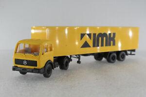 A.S.S WIKING Alt LKW MB NG 1626 S Schieder IMK Koffersattelzug 1984 GK 542/5 HBL