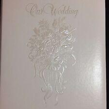 TAP Taprell Loomis White Wedding Photo Album