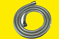 1.8m Apollo Shower Hose Pipe Stainless Steel With Washers Chrome Dousche Chrome