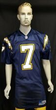 San Diego Chargers jersey Doug Flutie used team issued 2001 Adidas Navy LA sz48