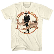 John Wayne Men's T Shirt Tomorrow is the Most Important Thing in Life Hero Quote