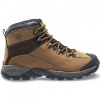Wolverine BlackLedge LX Waterproof Leather Mid-Cut Hiking Boot - Cigar/Gold