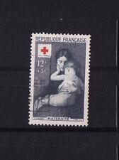 timbre France   croix rouge de 1954    num: 1006    oblitéré