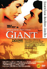 Giant - Elizabeth Taylor Rock Hudson James Dean (NEW) All Time Classic Film DVD