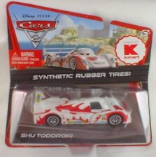 NEW Disney Pixar Cars 2 SHU TODOROKI Synthetic Tires