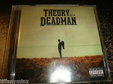THEORY OF A DEADMAN cd THEORY OF A DEADMAN free US shipping