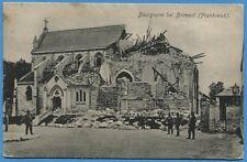 CPA: Bourgogne bei Brimont (Frankreich) / Guerre 14-18