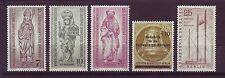 Berlin postfrisch 1955/1956 MiNr.  132-134 und 155 und 157