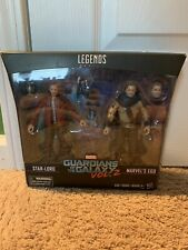 Marvel Legends Guardians Of The Galaxy Star Lord And Ego 2 Pack