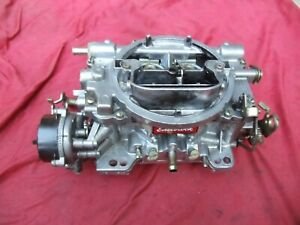 Edelbrock 1406 Electric Choke 4 Barrel Carburetor 600 CFM