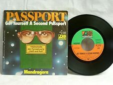 "7"", Single, Passport, Get Yourself A Second Passport, Mandragora, Doldinger, EX"