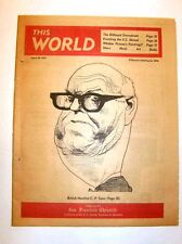 THIS WORLD - Aug 30, 1970 - C. P. SNOW (cover art by David Levine), Kent State