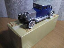 Antigua miniatura 1:43 Rio 72 Rolls Royce modelo Twenty de 1923. Made in Italy.