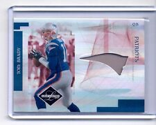 TOM BRADY 2007 LEAF LIMITED GAME USED JERSEY CARD #2/10 PATRIOTS