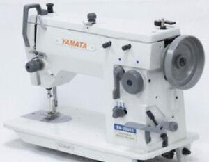 Yamata 20U63 ZigZag Straight Stitch Embroidery Sewing Machine 12mm,Head only
