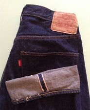 VINTAGE 60's LEVI'S 501 BIG E REDLINE SELVEDGE JEANS USA BARN FIND SEE DESCRIPT