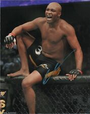 UFC Ultimate Fighting Anderson Silva Autographed Signed 8x10 Photo COA H
