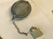 Wicker Handbag TG98 Infuser Stainless Steel Sphere Strainer