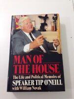 Man of the House - Thomas P., Jr. O'Neill (1987, 1st Edition, Hardcover, DJ)