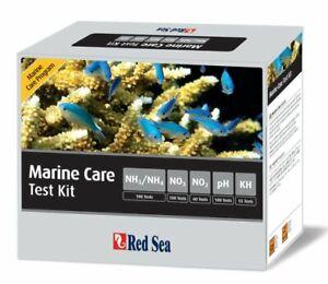 Red Sea Marine Care Test Kit Ammonia: 100 Tests, Nitrate: 50 Tests, Nitrite:...