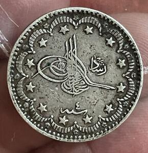Turkey Ottoman 5 Kurush Nice Grade