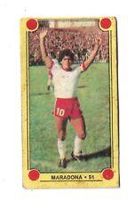 DIEGO ARMANDO MARADONA 1980 ORIGINAL FOOTBALL SOCCER CARD