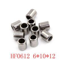 10pcs HF0612 6x10x12mm One Way Clutch Miniature Needle Roller Bearing JEC