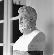 CORFOU c. 1960 - Achilleion Bustes Statues Grèce - 7 Négatifs 6 x 6 - GRE 170