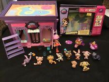 Littlest Pet Shop Lot de  10 avec  1 maisons et accessoires