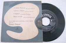 ORCHESTRA OF THE ROYAL OPERA HOUSE, COVENT GARDEN Cavalleria Rusticana - 45 RPM
