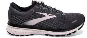 Brooks Women's Ghost 13 Black Hushed Violet Running Shoe Size 8 120338-062