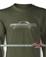 1967 Plymouth GTX Coupe Long Sleeves T-Shirt - Multiple Colors & Sizes  American