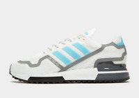 Adidas ZX 750 White-Grey-Blue Men's Trainers All Sizes Limited Stock New Arrival