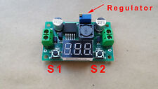 LED LM2596 módulo conversor de voltaje regulador buck 4-40V en 1-35V fuera