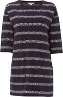 Ex White Stuff  Memo Stripe Tunic Top – Uk size  8 – 16 – Blue